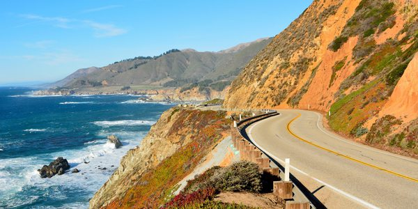 USA Kalifornien Big Sur Route 1