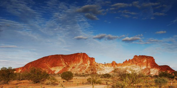 Australien Alice Springs Rainbow Valley