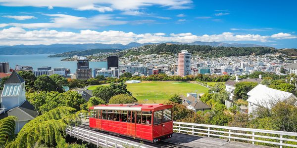 Neuseeland Wellington Cable Car