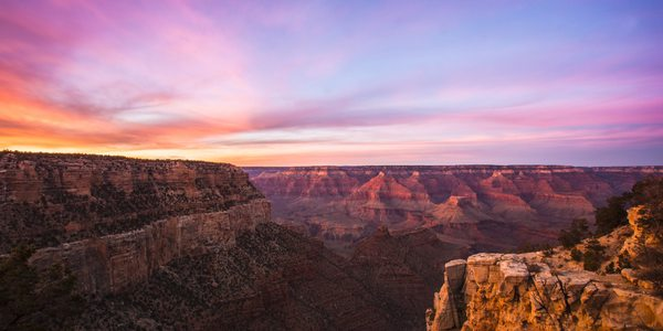 USA Grand Canyon Sonnenuntergang