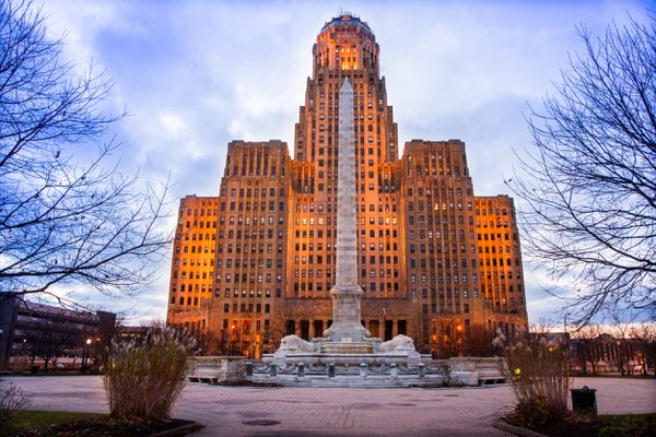 New York Buffalo City Hall
