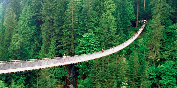 Kanada British Columbia Capilano Suspension Bridge