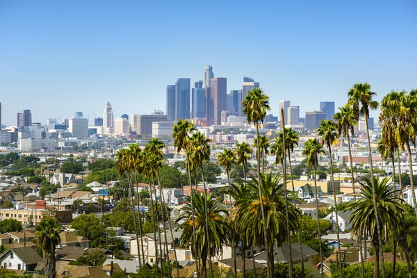 Los Angeles Rundreise: Skyline und Palmen