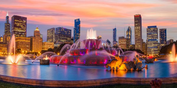 USA Chicago Buckingham Fountain