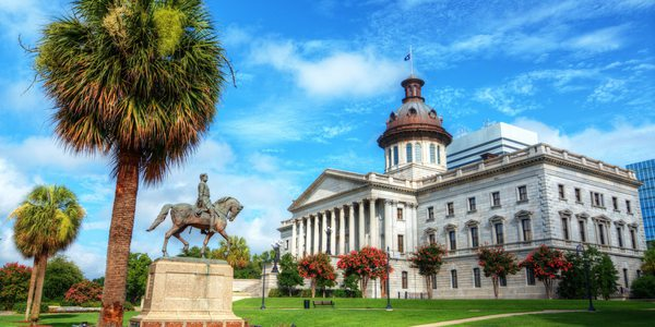 USA South Carolina State House
