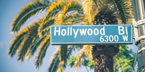 USA Los Angeles Hollywood Schild