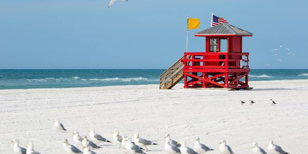 USA Florida Siesta Key Strand