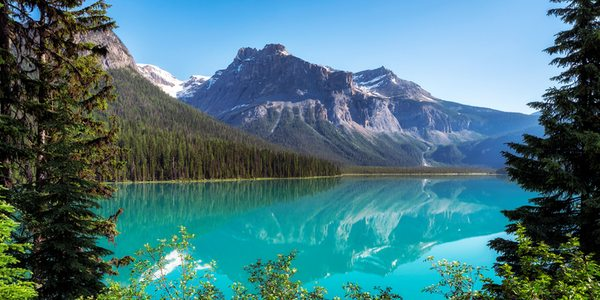 Kanada British Columbia Emerald Lake