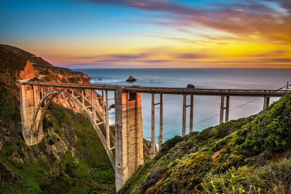 USA Kalifornien Big Sur